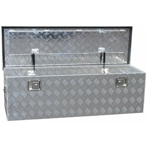 Bc-elec - NETTB-19 Toolbox, Storage box Aluminium transport box for vehicles 124x40x38cm 180 litres