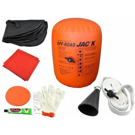 Bc-elec - PN033 AirJack (cric gonflable) 4 tonnes pour 4x4, SUV... + Accessoires - Orange