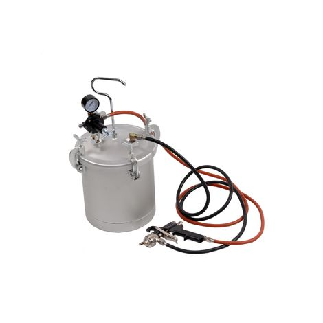 Bc-elec - PX-1 10 litre pressure paint tank with spray gun included. Ideal for major painting jobs