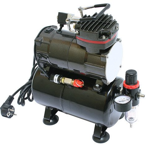 Bc-elec - TC-88T Airbrush compressor TC-88T 0 - 6 bar with air reservoir