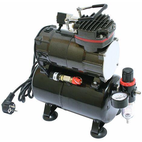 Bc-elec - TC-88T Airbrush Mini-Kompressor TC-88T - Schwarz