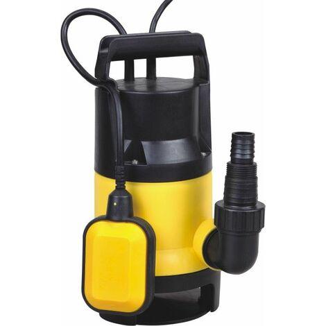 Bc-elec - TP01085 Pompe à eau immergée pour eaux sales - graviers 35mm 400W / 7500l/h - Jaune