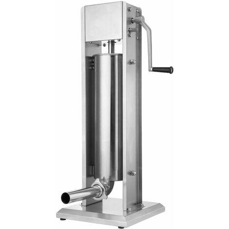 Bc-elec - WF01 Vertical sausage press stainless steel 7L, sausage pusher filling