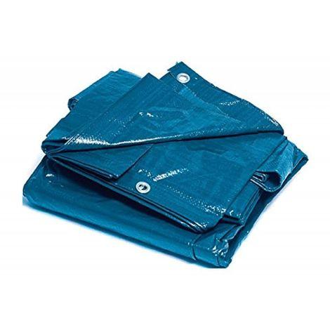 Bcalpe 305274 - Toldo rafia plastificado, color azul
