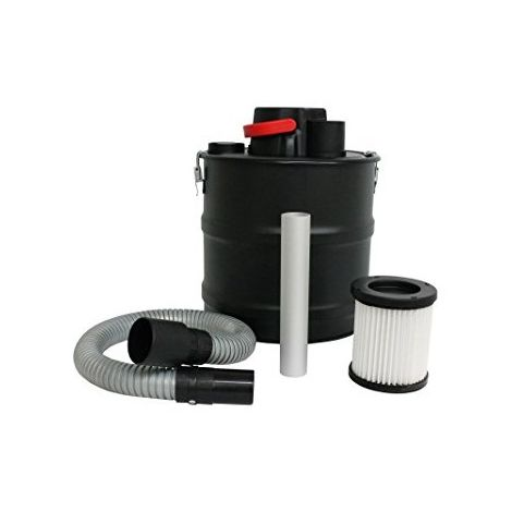 Bcalpe ECA806N-18L Aspirador ceniza, 1200 W, Negro