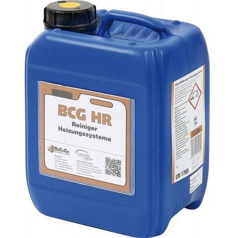 BCG Heizungsreiniger fuer alle Heizungsanlagen, a 5 Liter, Typ BCG HR