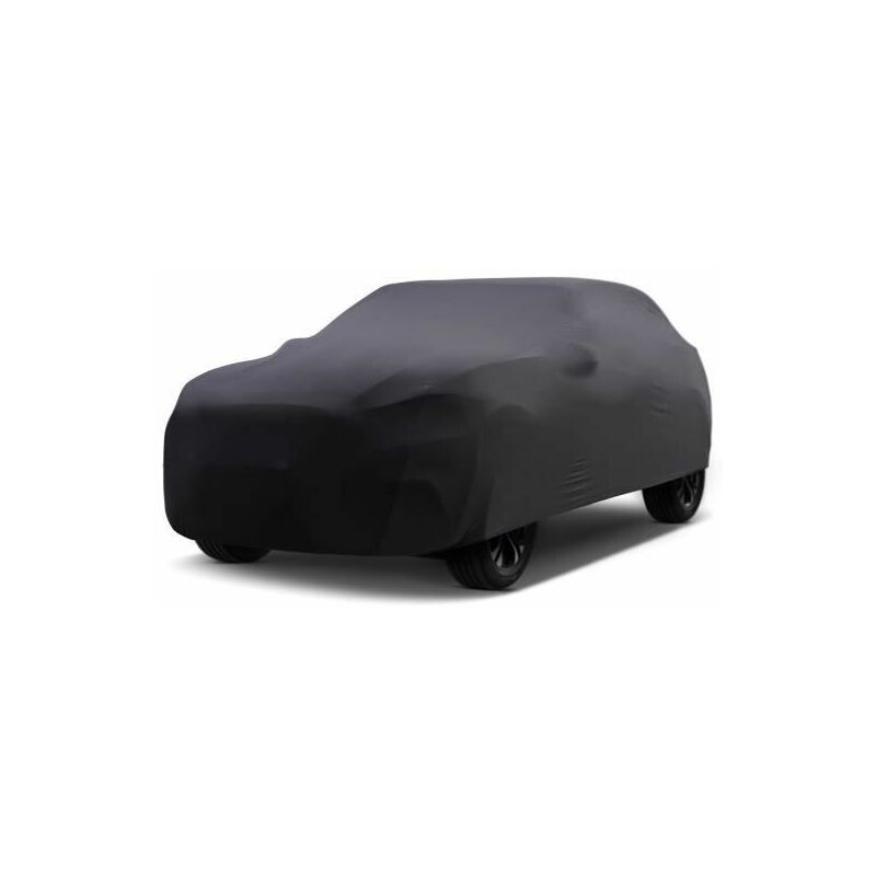 Bâche Auto intérieure pour Fiat 500x 2014 (2014 - Aujourd'hui) - Noir