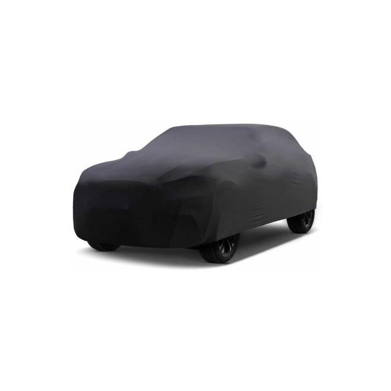 Bâche Auto intérieure pour Saab 9-3 2 sport sedan cabrio (2002 - 2013) - Noir