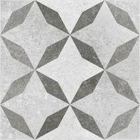 BCT Concrete Feature 33.1cm x 33.1cm Ceramic Floor Tile - BCT14423