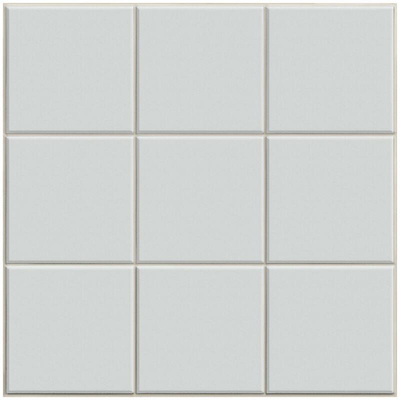 Image of BCT Condo Dove Grey Gloss 19.8cm x 19.8cm Ceramic Wall Tile - BCT57017