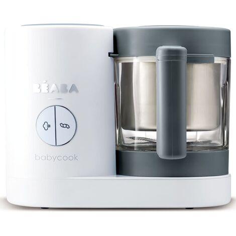 Beaba 4-in-1 Babynahrungsmittel-Gerät Babycook Neo 400 W Grau Weiß