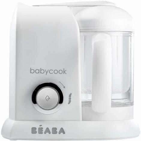 Beaba 4-in-1 Babynahrungsmittel-Gerät Babycook Solo 1100 ml Weiß