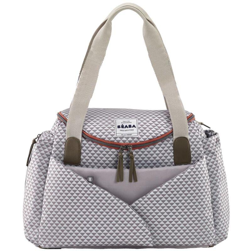 Image of Beaba Nursery Bag Sydney II Grey and White - Grey