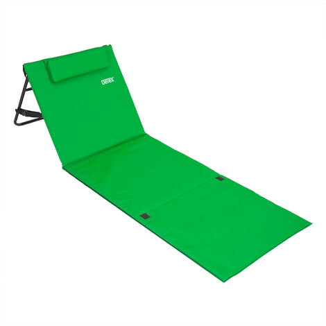 Beach Mat with Backrest 160cm x 54cm
