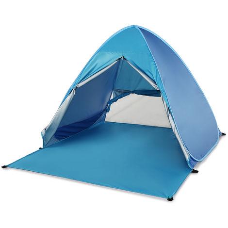 Beach shade tent (with curtain)
