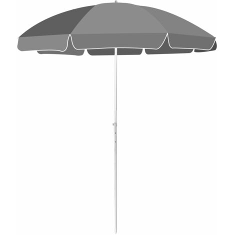 Beach Umbrella 180 cm Anthracite