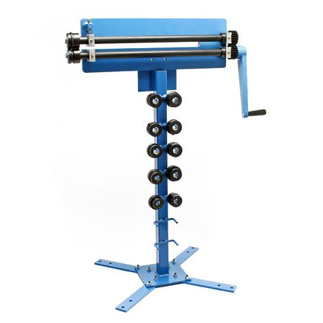 Beading Machine with Foot, Corrugation of Metal Sheets with various Treads