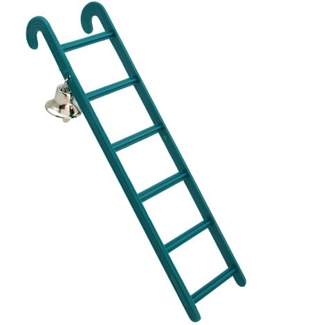 Beaks Plastic Ladder With Bell (One Size) (May Vary)
