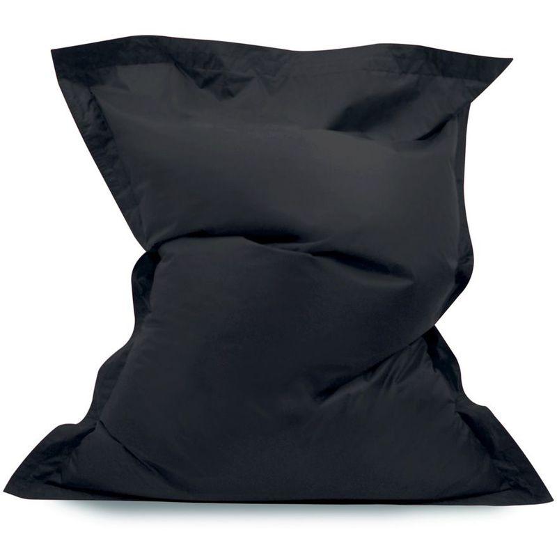 'Big Bag' Pour Enfants, Poufs géants pour enfants - Noir, Très grand, Poufs d'intérieur et d'extérieur - Noir - Bean Bag Bazaar