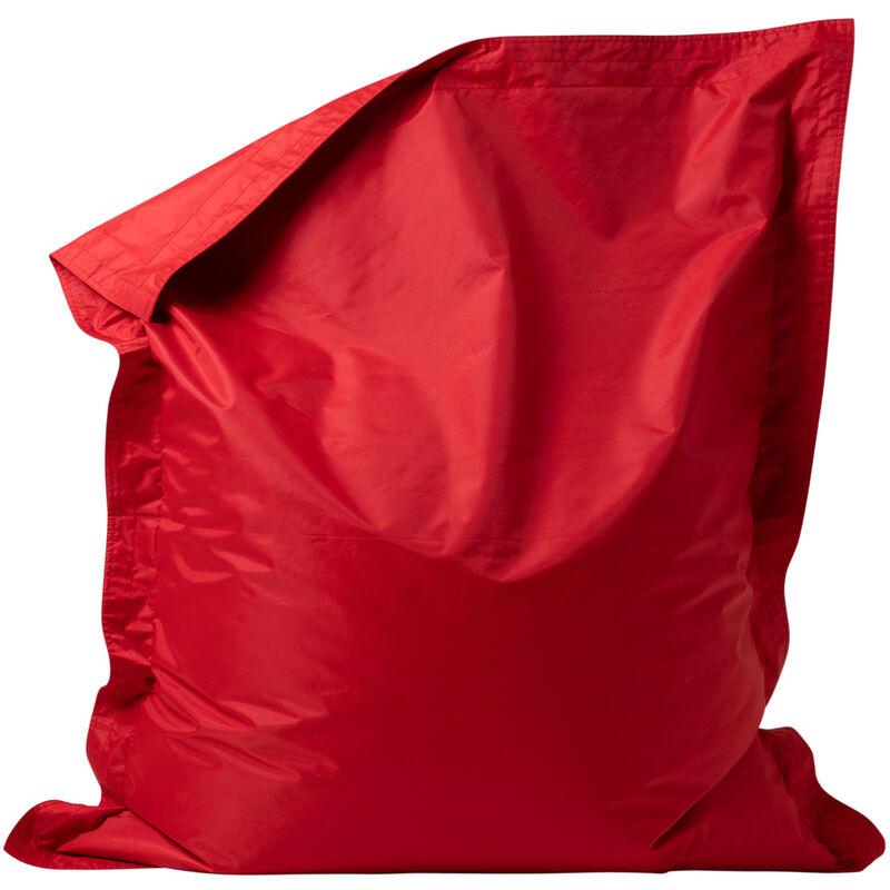 'Big Bag' Pour Enfants, Poufs géants pour enfants - Rouge, Très grand, Poufs d'intérieur et d'extérieur - Rouge - Bean Bag Bazaar