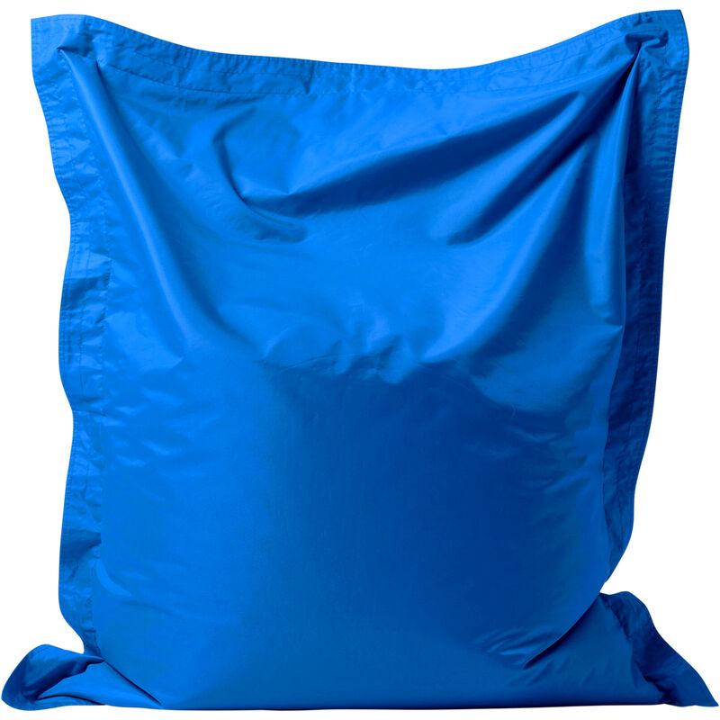 'Big Bag' Pour Enfants, Poufs géants pour enfants - Bleu, Très grand, Poufs d'intérieur et d'extérieur - Bleu - Bean Bag Bazaar