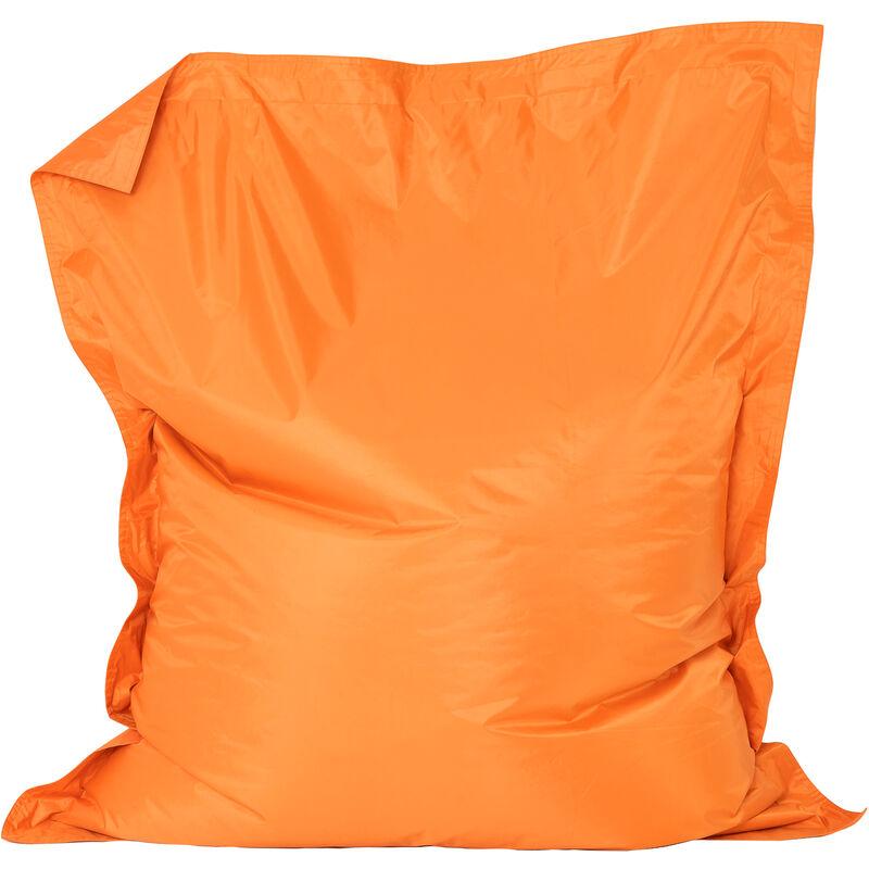 'Big Bag' Pour Enfants, Poufs géants pour enfants - Orange, Très grand, Poufs d'intérieur et d'extérieur - Orange - Bean Bag Bazaar