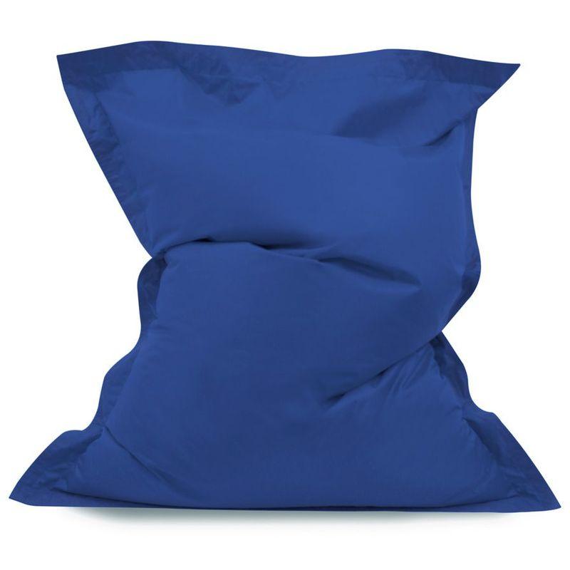 Coussin de Sol pour Pouf Géant, Pouf pour Adultes - Bleu, Grand, Poufs d'intérieur et d'extérieur - Bleu - Bean Bag Bazaar