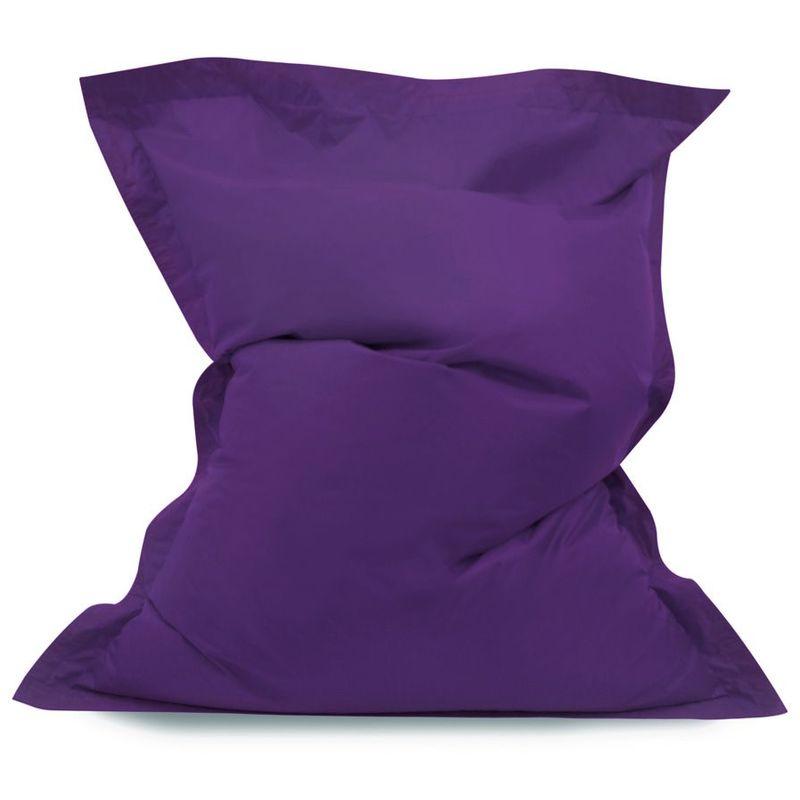 Coussin de Sol pour Pouf Géant, Pouf pour Adultes - Violet, Grand, Poufs d'intérieur et d'extérieur - Violet - Bean Bag Bazaar