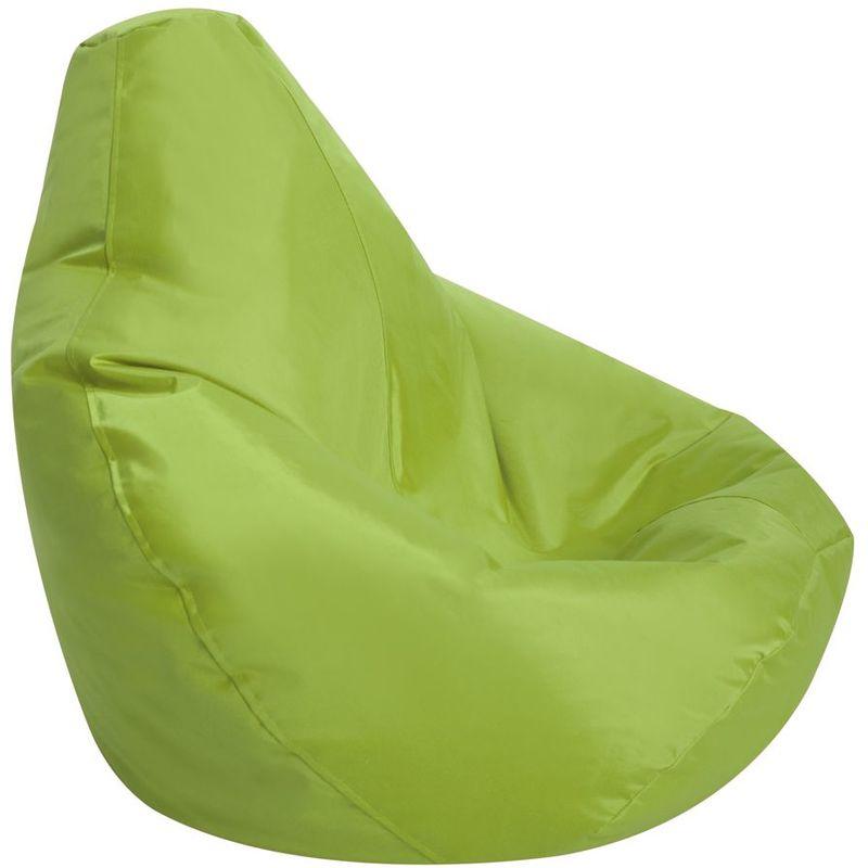 Pouf Spécial Gamer pour Enfants - Vert Citron, Grand - Résistant à l'eau, Poufs d'intérieur et d'extérieur - Vert Citron - Bean Bag Bazaar