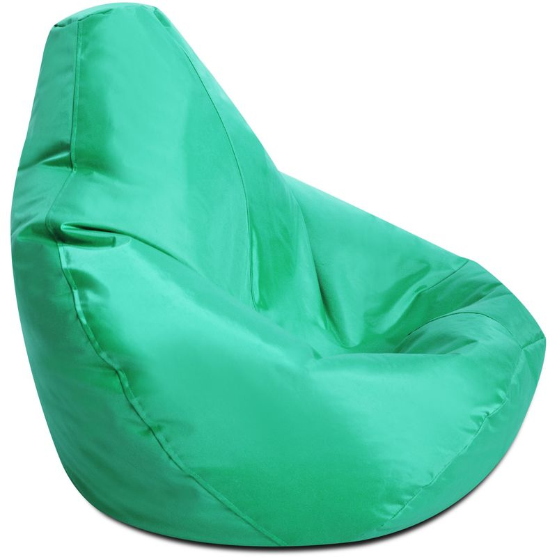 Bean Bag Bazaar Pouf Spécial Gamer pour Enfants - Vert Menthe, Grand - Résistant à l'eau, Poufs d'intérieur et d'extérieur - Vert Menthe