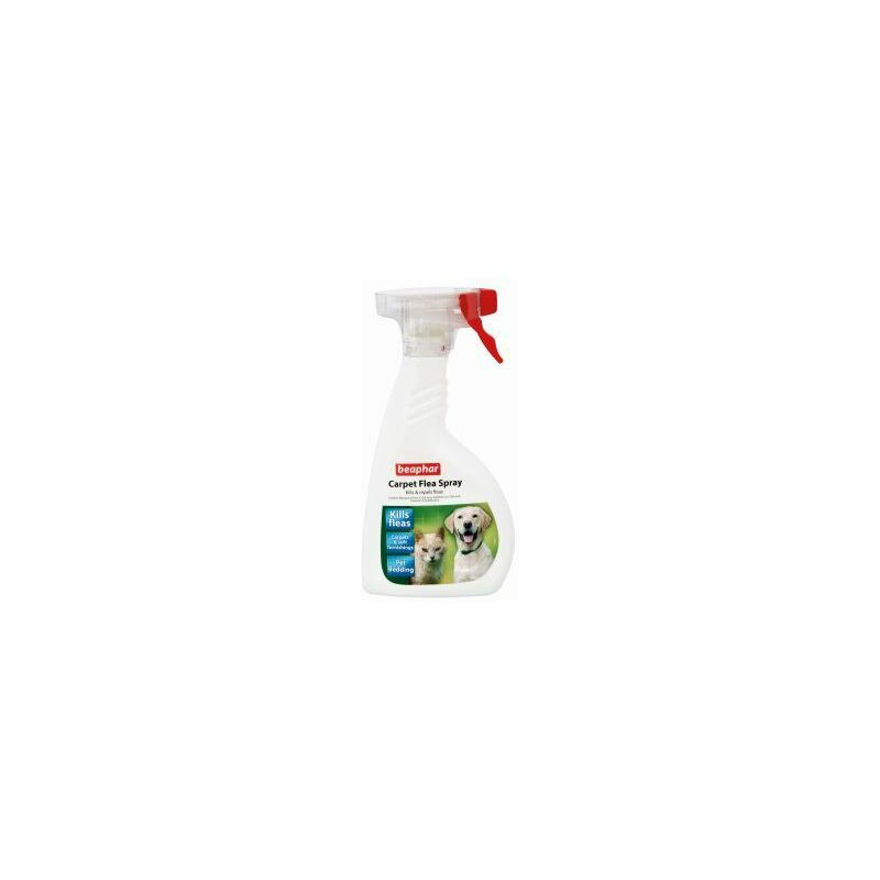 Image of Carpet Flea Spray 400ml x 1 (22066) - Beaphar
