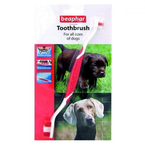 Beaphar Dog Double Toothbrush (One Size) (May Vary)