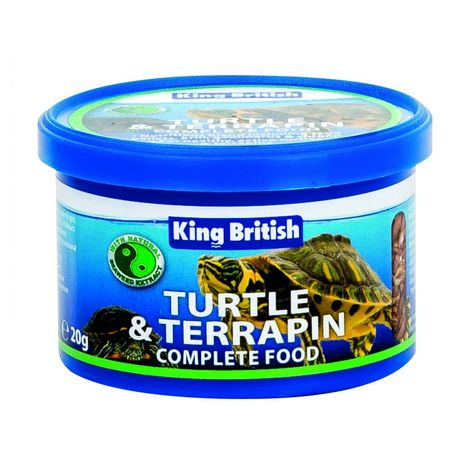 Beaphar King British Wasserschildkröten-Komplettfutter (20 g) (Mehrfarbig)