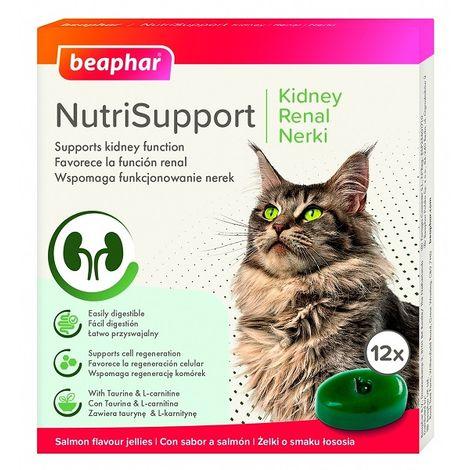 BEAPHAR NUTRISUPPORT GATO RENAL - 12 gominolas de gelatina