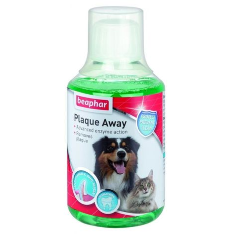 Beaphar Plaque Away Liquid Mouthwash (250ml) (May Vary)