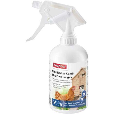Beaphar - Spray Stop Poux Rouges pour Environnement et Animaux - 500ml