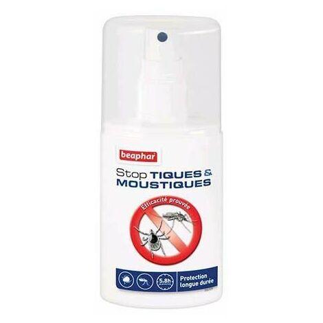 Beaphar stop tiques et moustiques, spray anti-tiques et moustiques - 125 ml