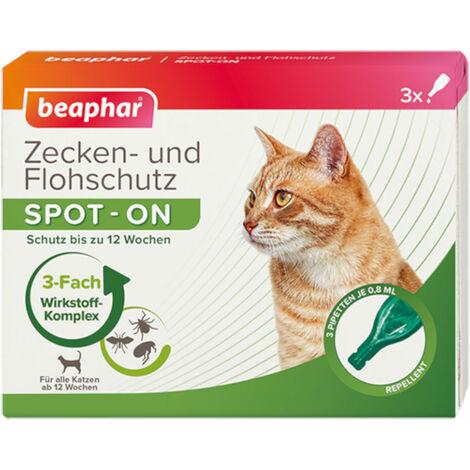 Beaphar - Zecken- und Flohschutz SPOT-ON für Katzen
