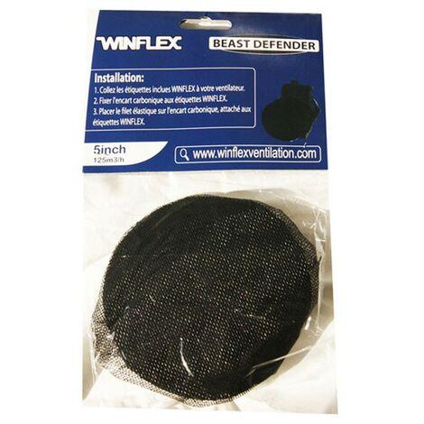 BEAST DEFENDER 125mm filtre de protection insectes , pour extracteur d'air Winflex