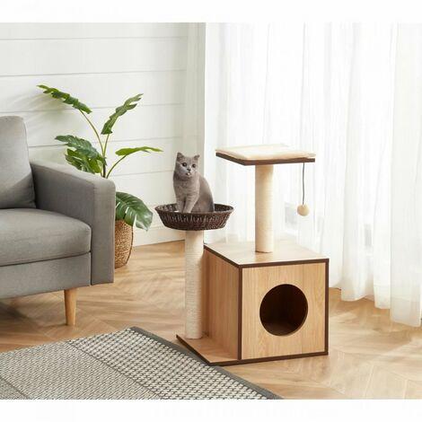 BEAU RIVAGE QUINN Arbre a chat en bois