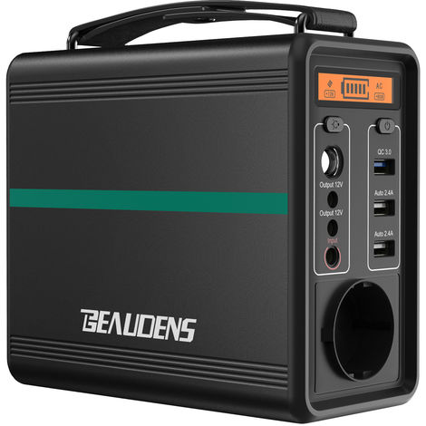 Beaudens B-1502 166Wh Portable power generator Fuente de alimentación de emergencia