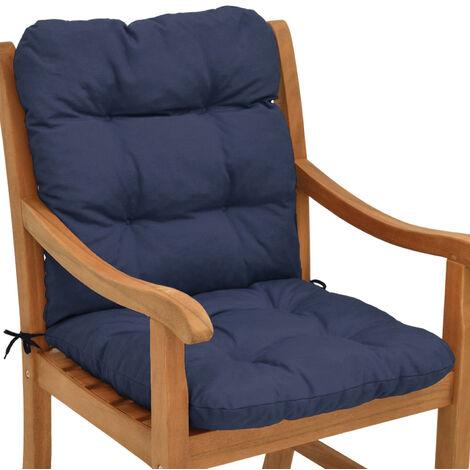Beautissu Coussin Flair NL - pour chaise fauteuil de jardin terrasse