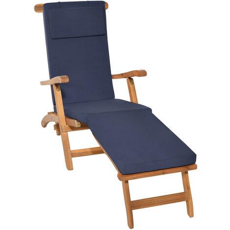 Beautissu Deckchair Auflage LoftLux DC