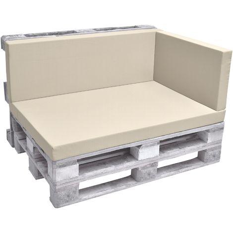 beautissu eco pure coussins exterieur pour canape euro. Black Bedroom Furniture Sets. Home Design Ideas