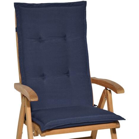 Beautissu Matelas Coussin pour chaise fauteuil de jardin terrasse Loft HL