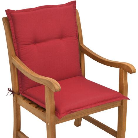 Beautissu Matelas Coussin pour chaise fauteuil de jardin terrasse Loft NL