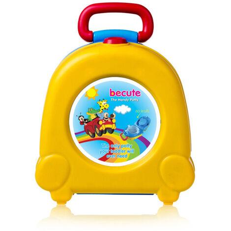 Bebé, niño, niño, orinal, entrenamiento, portátil, asiento de inodoro, coche, viaje, entrenador