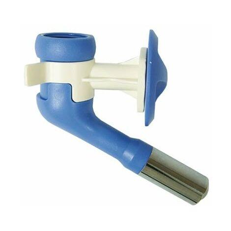 Bebedero chupete universal para perros medianos y grandes, sistema antigoteo, Diámetro boquilla: 22 mm.
