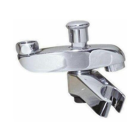 Bec bain douche avec support douchette pour mélangeur