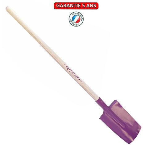 Bêche standard manche pomme 105cm- Bêche 28cm - Framboisine
